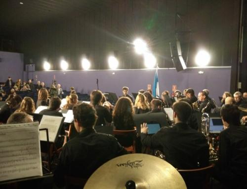 La Banda de Zizur celebra el Día de Navarra en Tudela