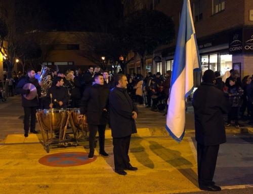 Los Reyes Magos llegan a Zizur amenizados por la Banda de Música