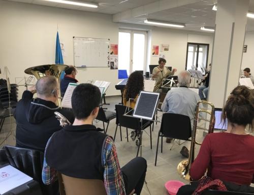 Ramón Cardo transmite cómo trabajar el Jazz en una banda