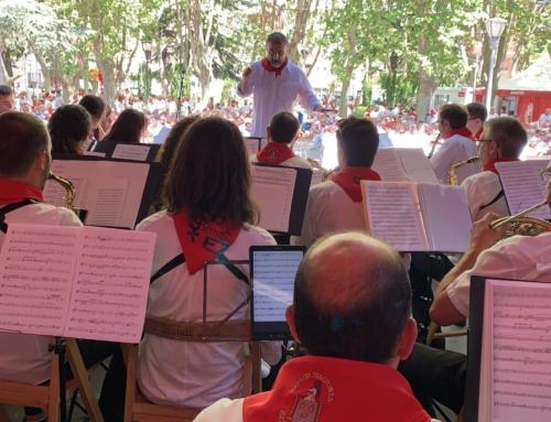 La Banda de Zizur repite su participación en las fiestas de San Fermín