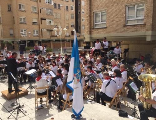 La Banda celebra las Fiestas de Zizur