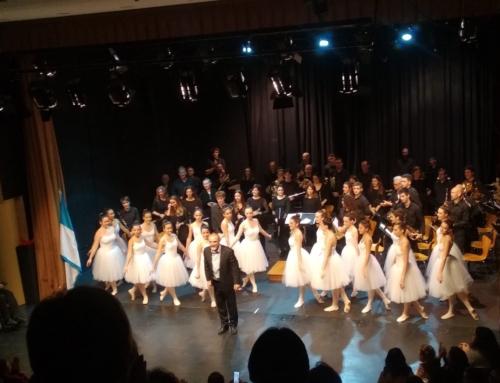 Concurrido fin de semana para la Banda de Zizur